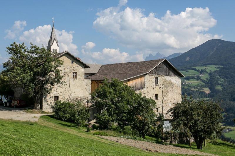 Ansitz Schloss Gravetsch nella Valle d´Isarco
